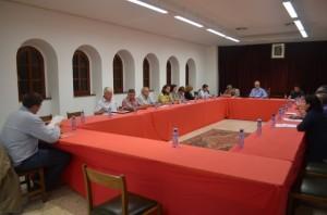 Sesión del consejo comarcal. JLP.