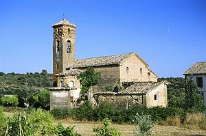 Vista de la iglesia de Morrano. Ignacio Pardinilla.