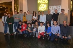 Los finalistas de campeonatos de España. JLP.