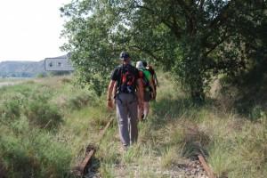 Antigua vía ferroviaria de Barbastro a Selgua. JLP.