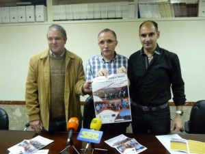 Joaquín Muzás, Jaime Facerías y Fernando Torres.