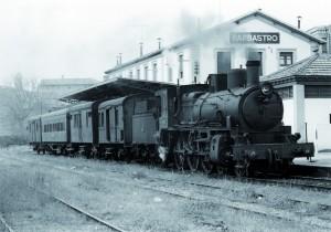 Tren de Barbastro a Selgua. Fototeca.