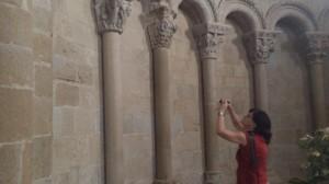 Una de las visitas al Alto Aragón.