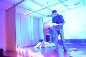 Performance 'The other side of death', por Crea@ctiva Teatro. Estela Puyuelo.