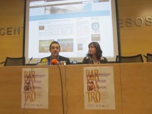 Iván Carpi y Ana Escartín. JLP.