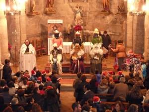 Los Reyes en Peralta de Alcofea.