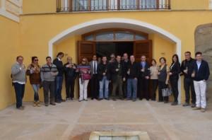 Participantes en las jornadas en Blecua. José Luis Pano.