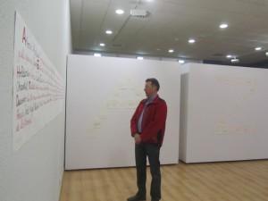 Exposición 'Palabras colg(h)adas). JLP.