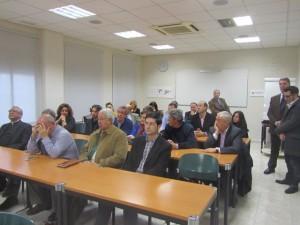 Asistentes a la reunión de la AEB. JLP.