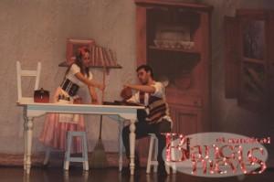 Un momento de Blancanieves, el Musical.