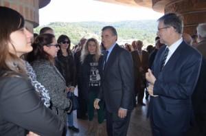 El PSOE estuvo representado entre otros por Cosculluela e Iglesias. JLP.