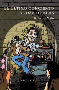 """Roberto Malo, autor de """"El último concierto de David Salas"""" pone música a las presentaciones de la obra."""