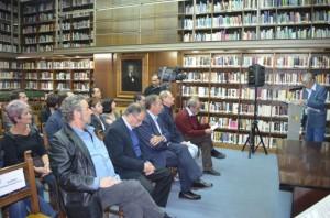 Fallo de los premios literarios de Barbastro. JLP.