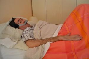 Fernando Abarca necesita la respiración asistida. JLP.