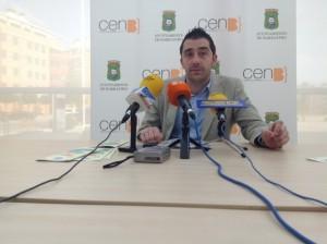 Iván Carpi, concejal de Cultura. JLP.