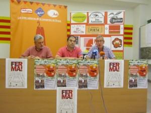 Presentación del congreso en Barbastro. JLP.
