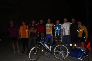 Primera etapa de Zaragoza a Fraga.