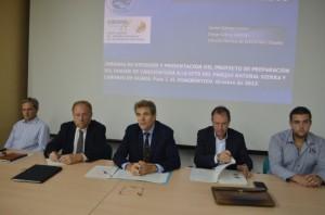 Presentación de la Carta de Turismo Sostenible en Bierge. JLP.