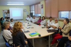 Reunión de Alzheimer Huesca en Los Monegros.
