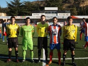 Barcos fue de los más destacados del Monzón. www.futbolaragonés.com