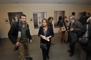 Elisa Sanjuán en la inauguración. Pablo Otín.