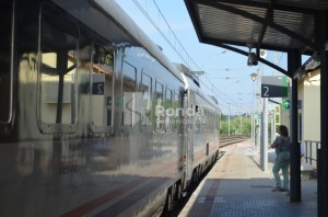 Estación de tren de Monzón. José Luis Pano.