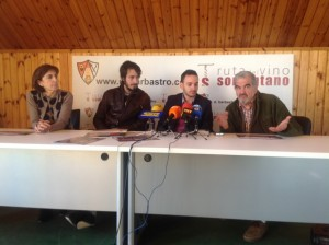 Mariano Turmo explicó las necesidades de Cáritas. JLP.