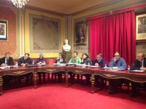 Sesión plenaria de Barbastro. JLP.