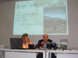 Maite López y Víctor Castillón. JLP.