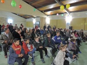 Mucha gente en Buera