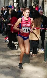 Nuria Sierra, clasificada para el Campeonato de España de Cross. Foto: CA Hinaco Monzón.
