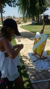 Concurso pintura Laperdiguera. Ronda Somontano.