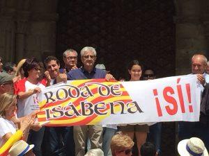 El Alcalde de Isábena, Joaquín Montanuy. Foto M. Carrera