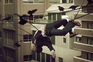 'Crow People', del artista sevillano EXILIO, Emilio Santiago